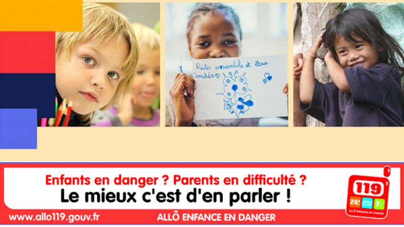 numéros d'urgence pour enfants en danger