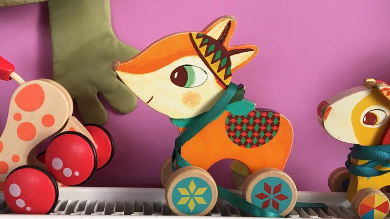 jouets du Café des enfants